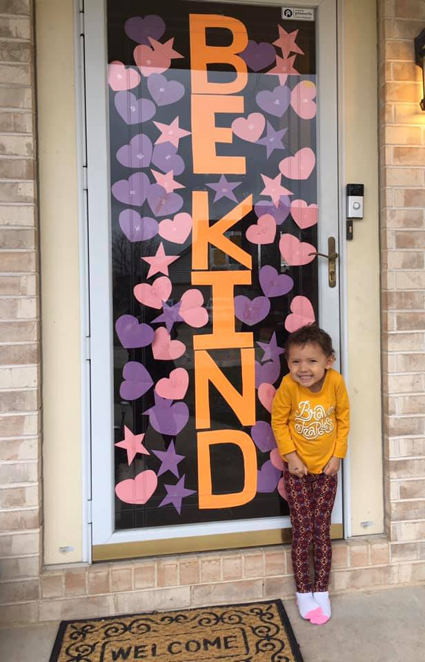 Happy Heart Hunt_Be Kind Door_Heidi Hernandez_Franklin WI